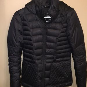 The North Face black winter jacket